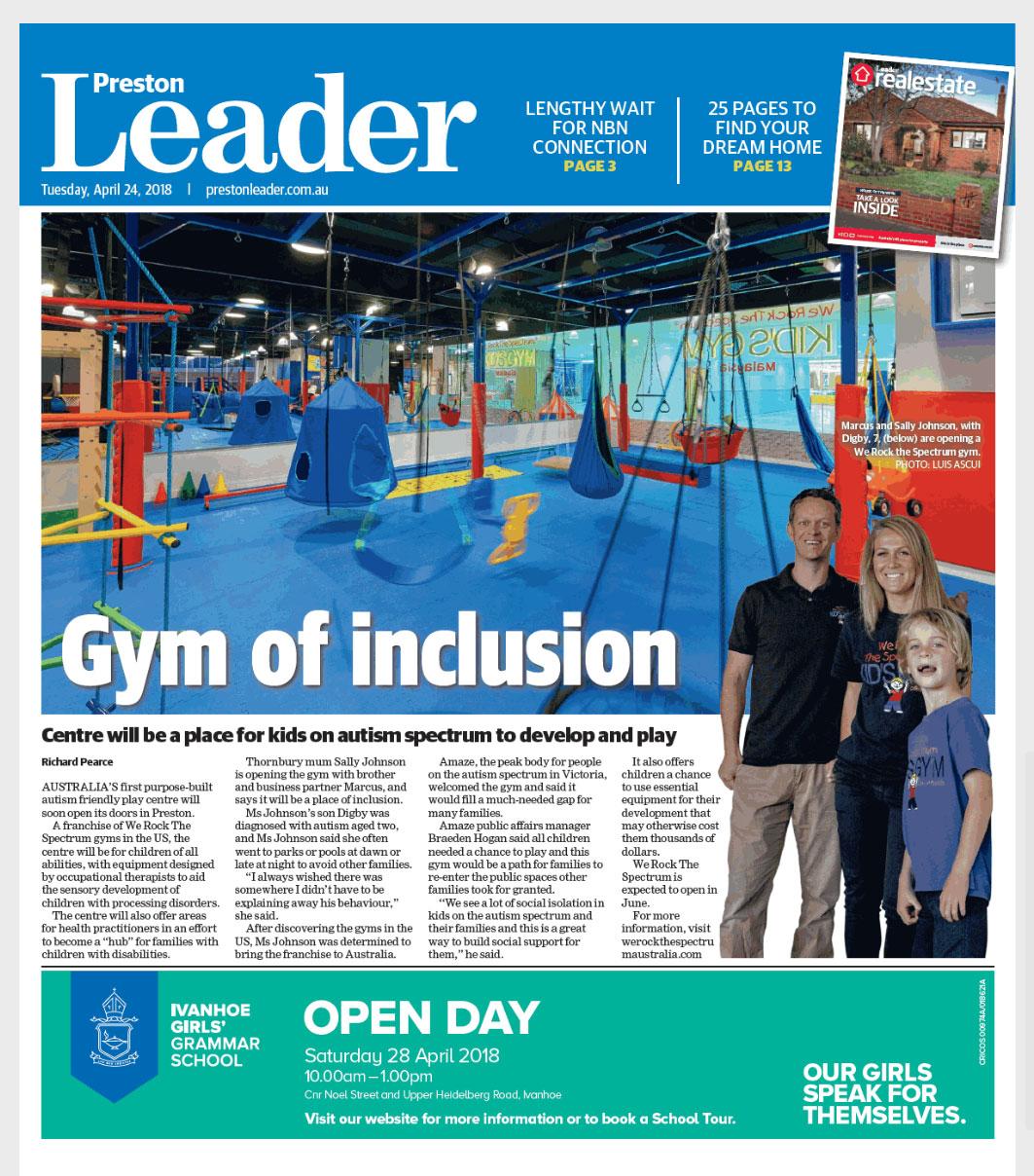 preston leader press feature
