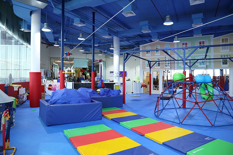 WRTS Dubai Gym Interior